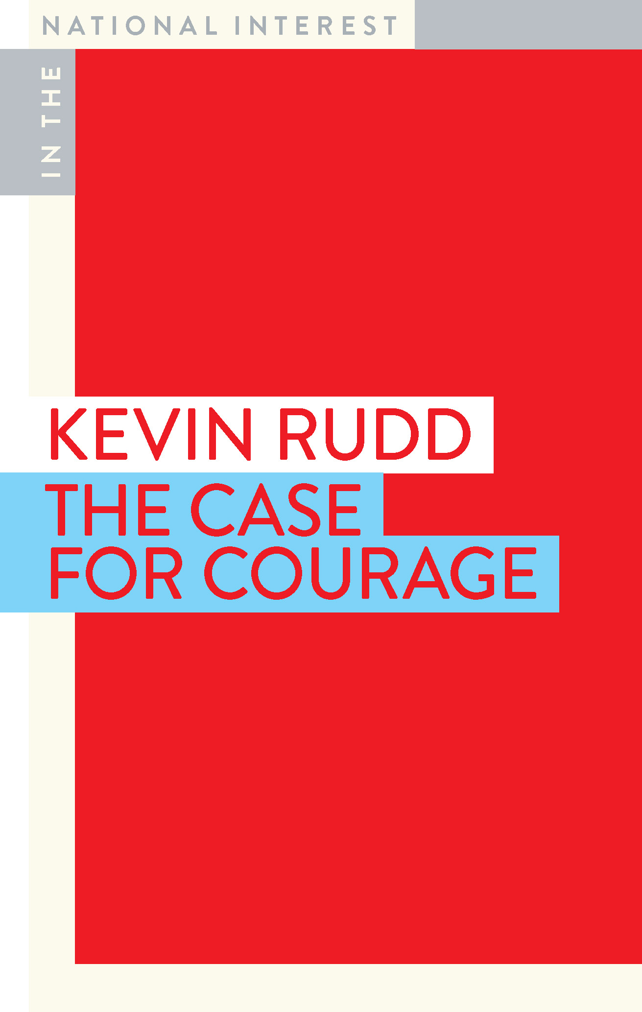Kevin Rudd book cover